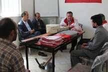 افتتاح سه خانه هلال در روستاهای اردبیل
