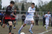 نمایندگان خوزستان در لیگ برتر فوتبال نونهالان سه پیروزی کسب کردند