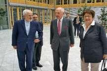 ظریف: وقت آن است که ایران و آلمان همکاریهای اقتصادی خود را ارتقا دهند