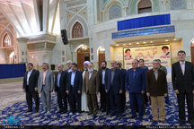 تجدید میثاق اعضای شورای اسلامی شهر تهران با آرمان های حضرت امام(س)