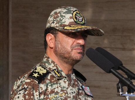 پدافند هوایی ارتش: حتی نزدیک شدن به مرزهای ایران به شدت پاسخ داده میشود