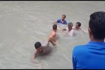 جان باختن جوان ۲۹ ساله در رودخانه تنگ سرخ بویراحمد+عکس