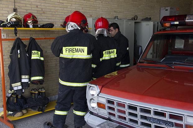 پایگاه آتش نشانی روستای پیریوسفیان قزوین افتتاح شد