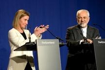 نگرانی موگرینی در مورد استعفای ظریف