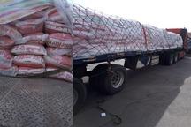 کشف 24 تن برنج خارجی قاچاق در مراغه