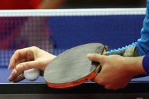 رقابتهای تنیس روی میز در زاهدان برگزار شد