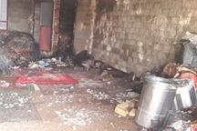 جوان 25 ساله بوکانی در یک آتش سوزی جان خود را از دست داد