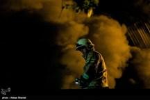 آتشسوزی در خط ۲ قطار شهری مشهد خسارت جانی نداشته است