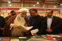 بازدید نماینده ولی فقیه در استان از نمایشگاه کتاب قزوین