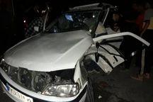 تصادف در جاده دزفول شوش یک کشته  و هشت مصدوم برجا گذاشت