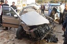 تصادف در محور فریمان شش مجروح بر جای گذاشت