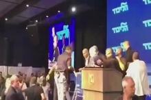 نتانیاهو از ترس موشکهای فلسطین به پناهگاه فرار کرد!