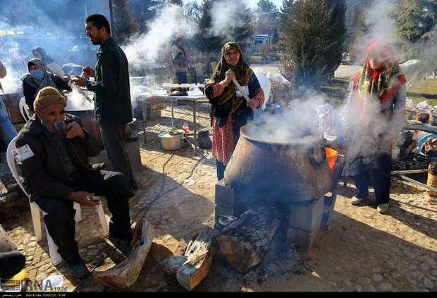 جشنواره سمنو در درق خراسان شمالی برگزار شد