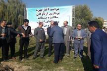 تحویل 13 دستگاه مکانیزه پسماند روستایی در قزوین