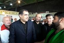 بازدید وزیر بهداشت از درمانگاه دانشگاه علوم پزشکی بابل و قرارگاه جهادی سجادیه استان مازندران