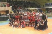 تبریز، پیروز دربی والیبال آذربایجان