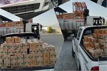 ارسال محموله کمکهای شهرداری مشهد به مناطق سیلزده گلستان
