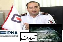 تصادف در کرمان موجب مصدومیت پنج نفر شد