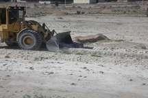 رفع تصرف سه هزار مترمربع از اراضی ملی منابع طبیعی در بندرلنگه