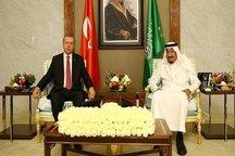 دیدار اردوغان و پادشاه عربستان در جده