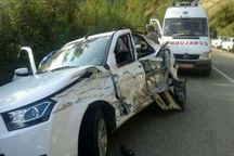 تصادف در جاده سبزوار پنچ مصدوم داشت