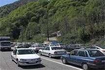 ترافیک پرحجم در جاده های استان زنجان