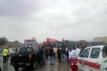 سه کشته در واژگونی اتوبوس راهیاننور در جاده تبریز