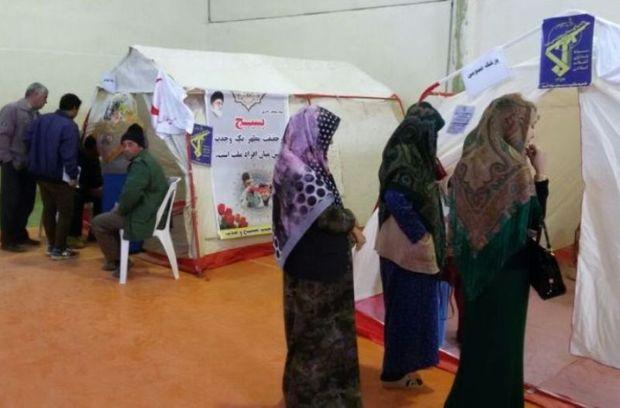 خدمات رایگان بیمارستان صحرایی بسیج به مرزنشینان شرق گلستان