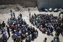 87 معتاد متجاهر از حاشیه مشهد جمع آوری شدند