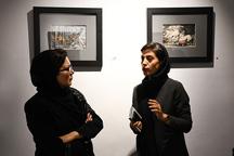 نمایشگاه نقاشی'فاجعه آرام نمی گیرد' در اصفهان گشایش یافت