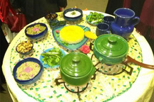 جشنواره های غذا زمینه ساز احیای سنت حسنه دور هم بودن است