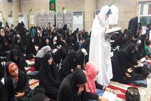 مراسم قرائت دعای عرفه در قزوین برگزار شد