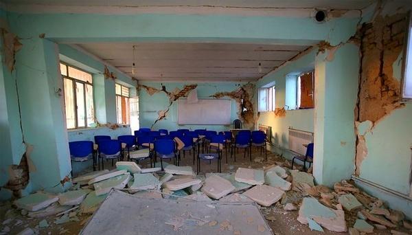 بررسی خسارت مدارس چهارمحال و بختیاری در بارندگیهای اخیر