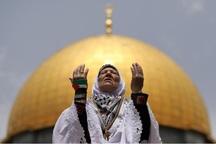 250 هزار فلسطینی در مسجدالاقصی نماز اقامه کردند