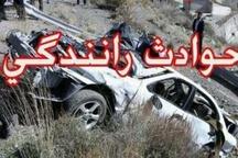 سانحه رانندگی در محور ساوه - همدان 9 کشته و مجروح برجای گذاشت