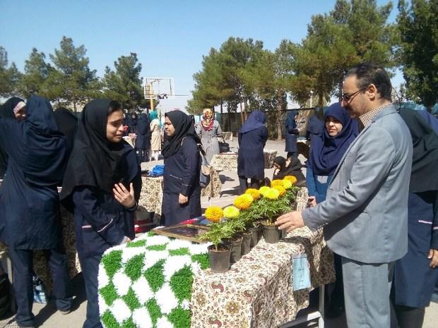 بازارچه دانش آموزی جشنواره خوارزمی در یزد گشایش یافت