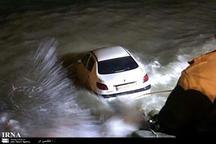 سقوط خودرو به رودخانه در بروجرد یک کشته داشت