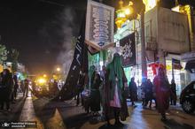 عزاداری شب عاشورا در خیابان جیحون تهران