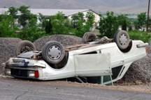 واژگونی خودرو در سبزوار جان یک نفر را گرفت