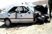 سرعت غیرمجاز در جیرفت 2 کشته برجا گذاشت