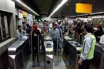 زمان فعالیت خطوط 1 و 3 مترو تهران یک و نیم ساعت افزایش می یابد