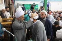 آیین عمامه گذاری جمعی از طلاب در جهرم برگزار شد