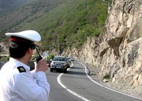 اعمال محدودیت ترافیکی در جاده کنداون