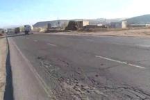 جاده 13 کیلومتری بستان آباد - شبلی بیش از زمین لرزه قربانی می گیرد