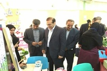 افتتاح نمایشگاه و بازارچه کار و فناوری دانش آموزان خرم آباد