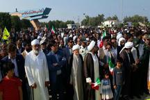 نمایش اتحاد کم نظیر مردم جاسک در راهپیمایی 22 بهمن