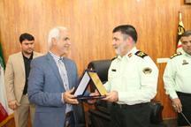 فرمانده انتظامی بوشهر: تعامل پلیس و شهرداری زمینه ساز امنیت و آرامش شهروندان است