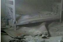 آتشسوزی در بیمارستان شهید رحیمی خرم آباد  حادثه مصدومی نداشت