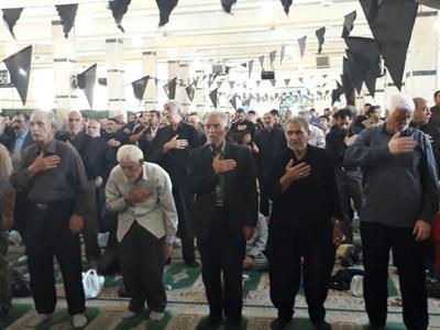 مراسم عزاداری سالروز شهادت امام جعفرصادق (ع) در کرمانشاه برگزار شد