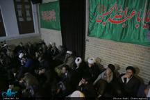 روضه ماهانه در بیت امام خمینی به یاد حاج سید احمد خمینی(ره)